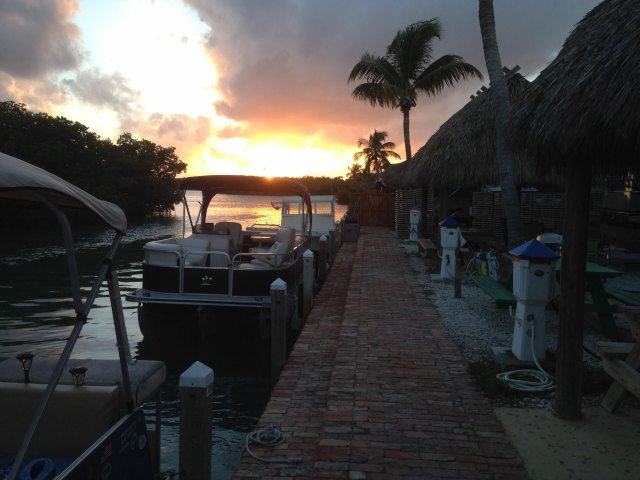 Sunset on Geiger Key