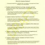 Larrabees Statement of Quaker Beliefs